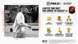 Vorbestell-Vorteile für die FIFA 21 Ultimate Edition