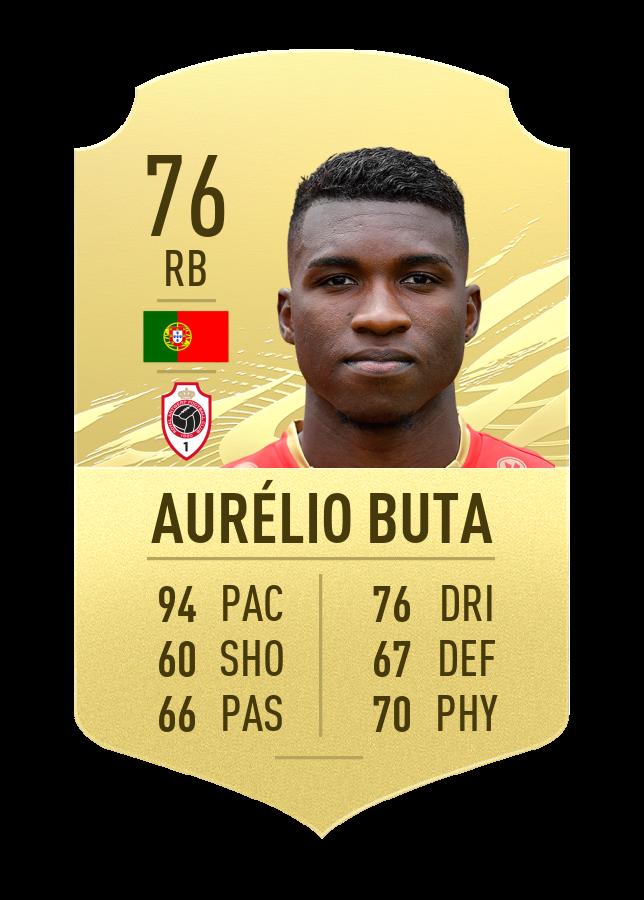 buta fast player fifa 21