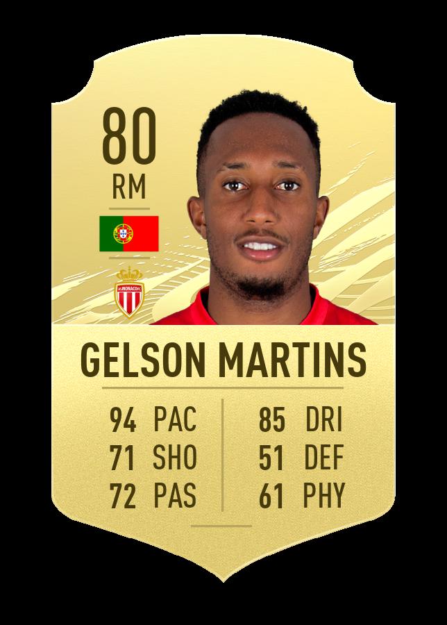 gelson martins fut 21 quick player