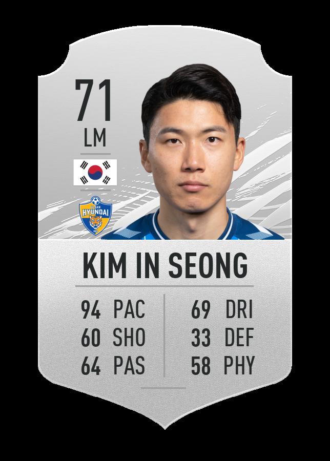 seong fast player fut 21