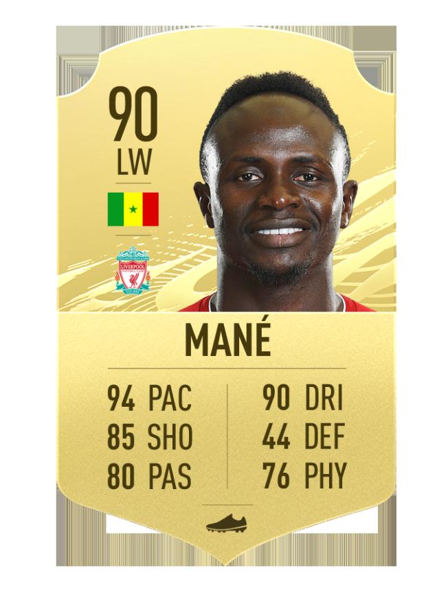 mane liverpool quick player