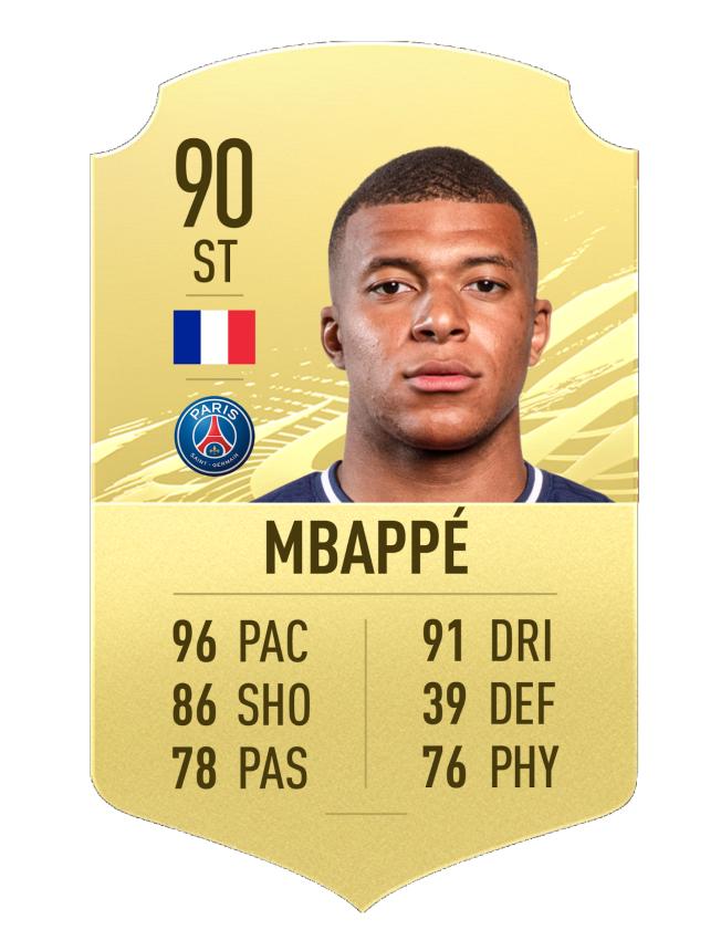 mbappe fast runner fifa 21