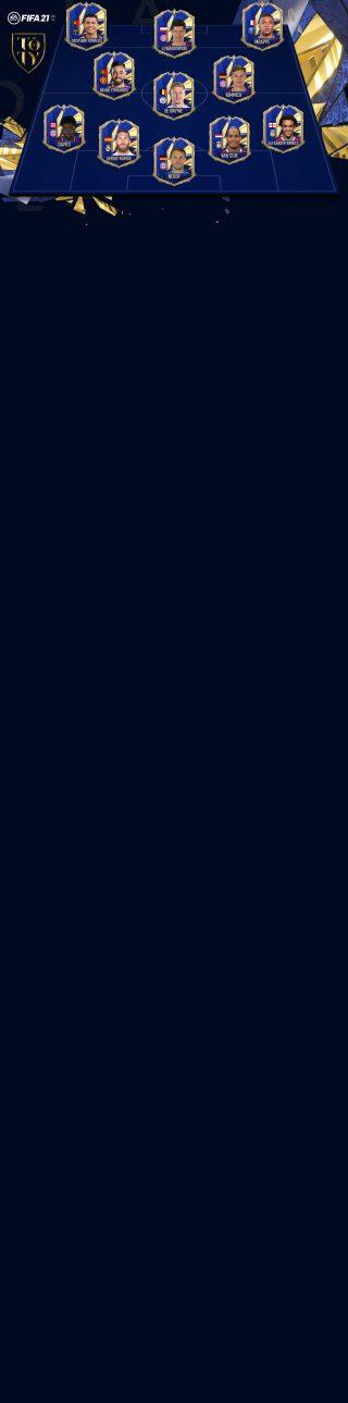 アップデート fifa21