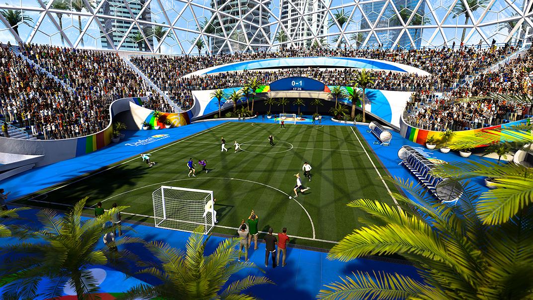 از تمامی استادیوم های حاضر در FIFA 21 رونمایی شد