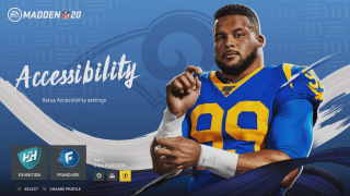 Madden NFL 20 Accessibility Advancements