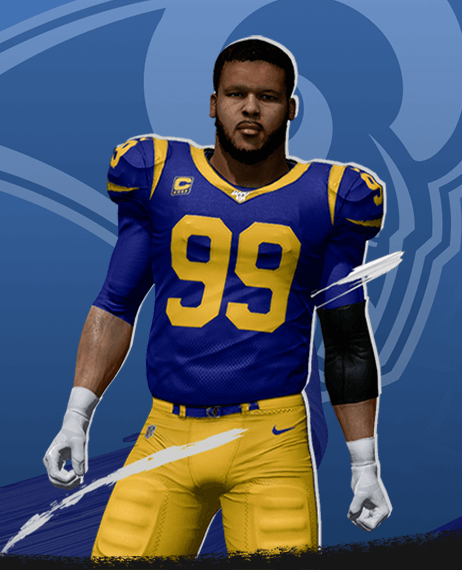 Madden Nfl 20 Superstar X Factor Aaron Donald Superstar Ea Sports Official Site