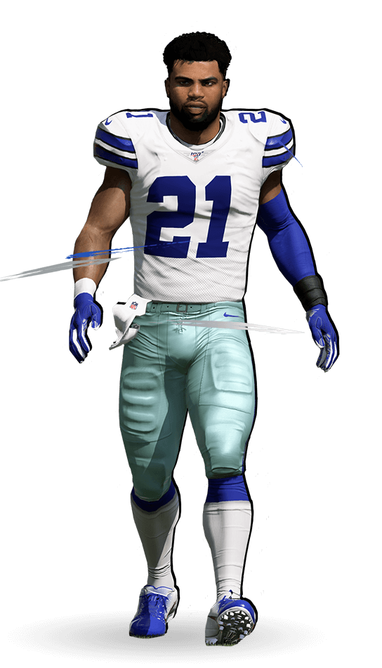 the best attitude 04120 4050b Madden NFL 20 Superstar X-Factor - Ezekiel Elliott ...