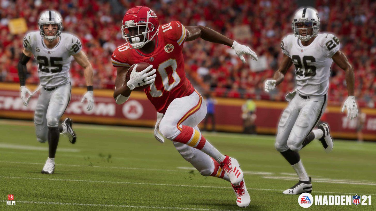 Madden NFL 21 expone las mejoras para Xbox Series X|S 2