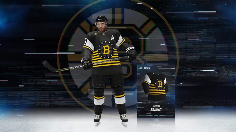 NHL® 19 Digital 6 Boston Bruins Jersey – EA SPORTS™ Official Site 9d54b50f93a