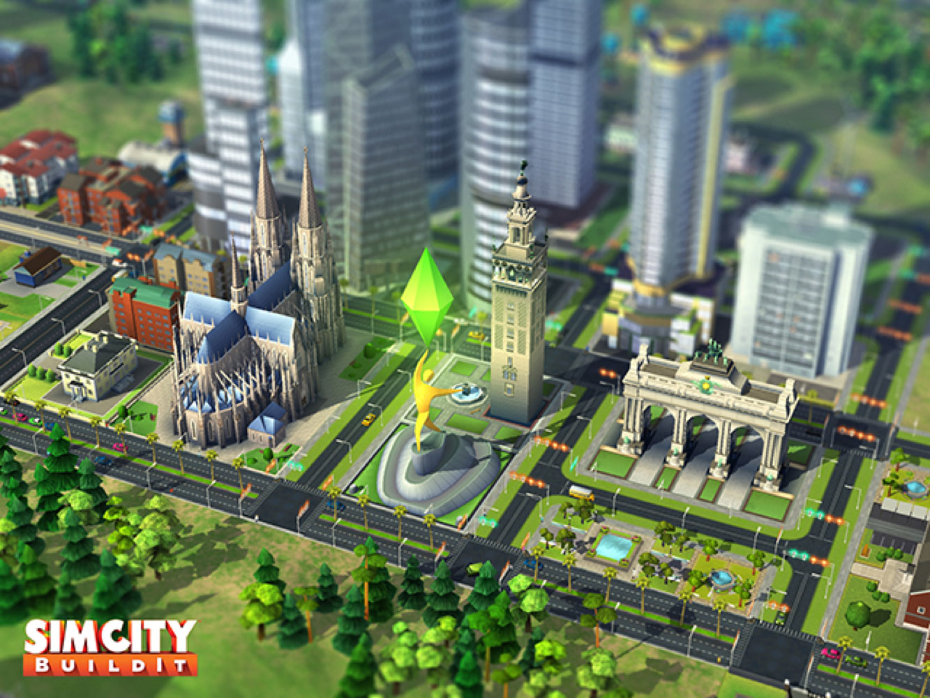 SimCity BuildIt 2015 Infographic