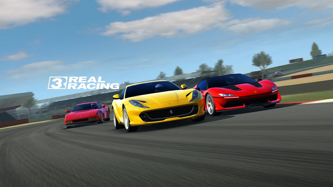 real racing 3 mise jour ferrari. Black Bedroom Furniture Sets. Home Design Ideas