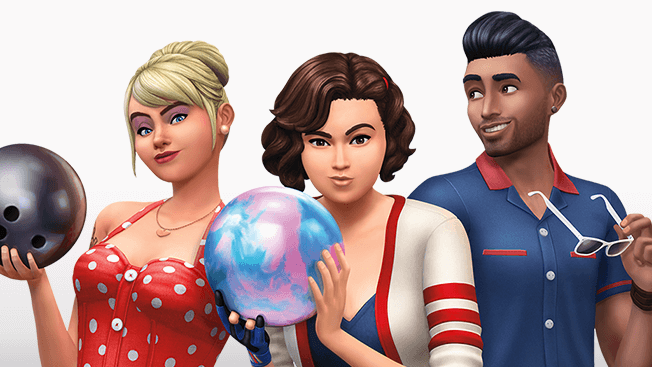 the sims 4 bowling night