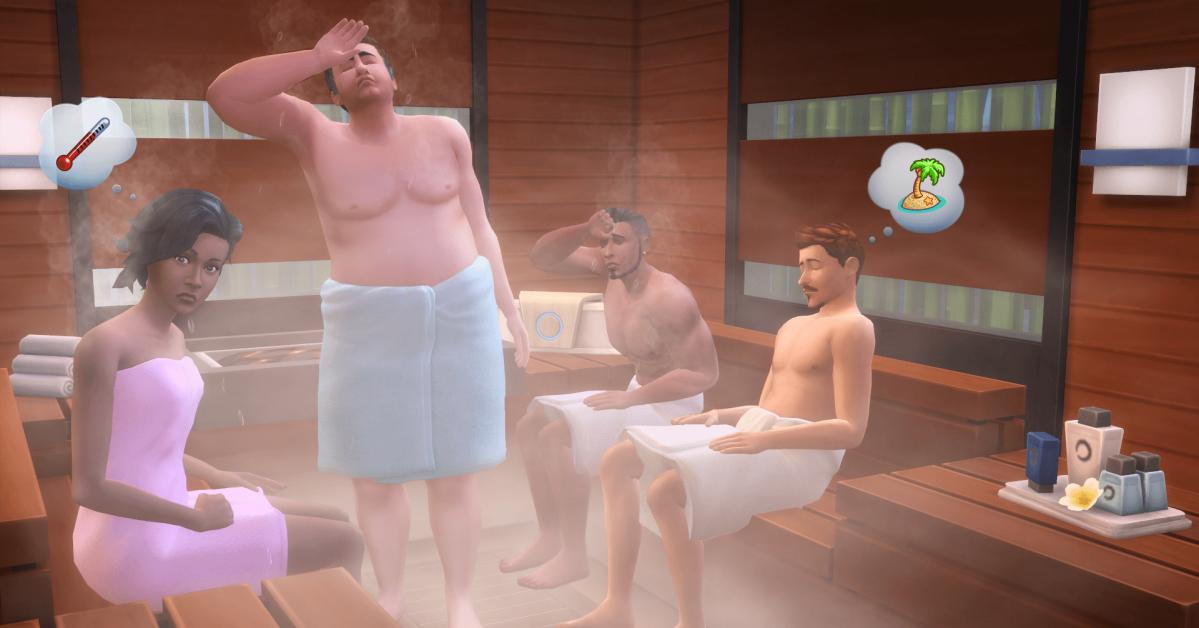 Sims Bambino Bagno : Cinque motivi favolosi per adorare un giorno alla spa