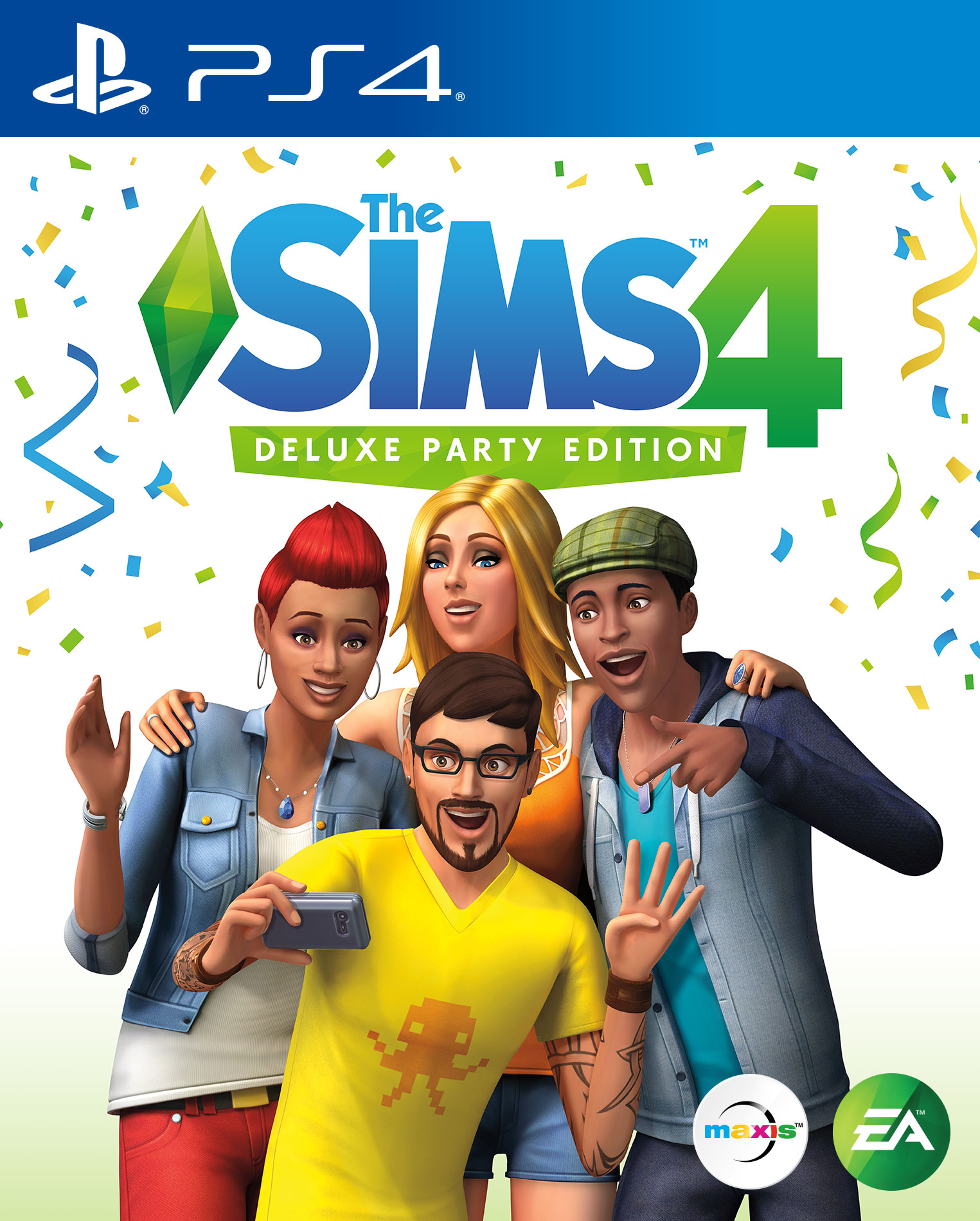The Sims 4 Deluxe Party Edition Playstation 4