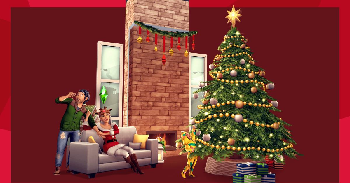 Xbox Christmas Update Sims 2020 Neighborhood Update