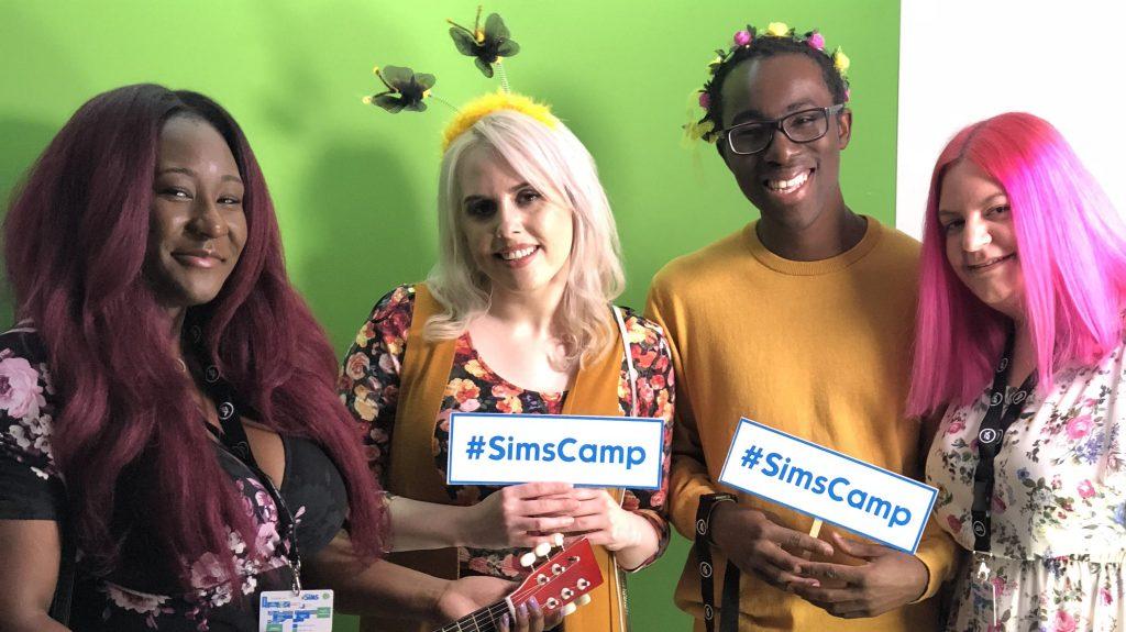Sims Camp: entrevista a creadores de contenido