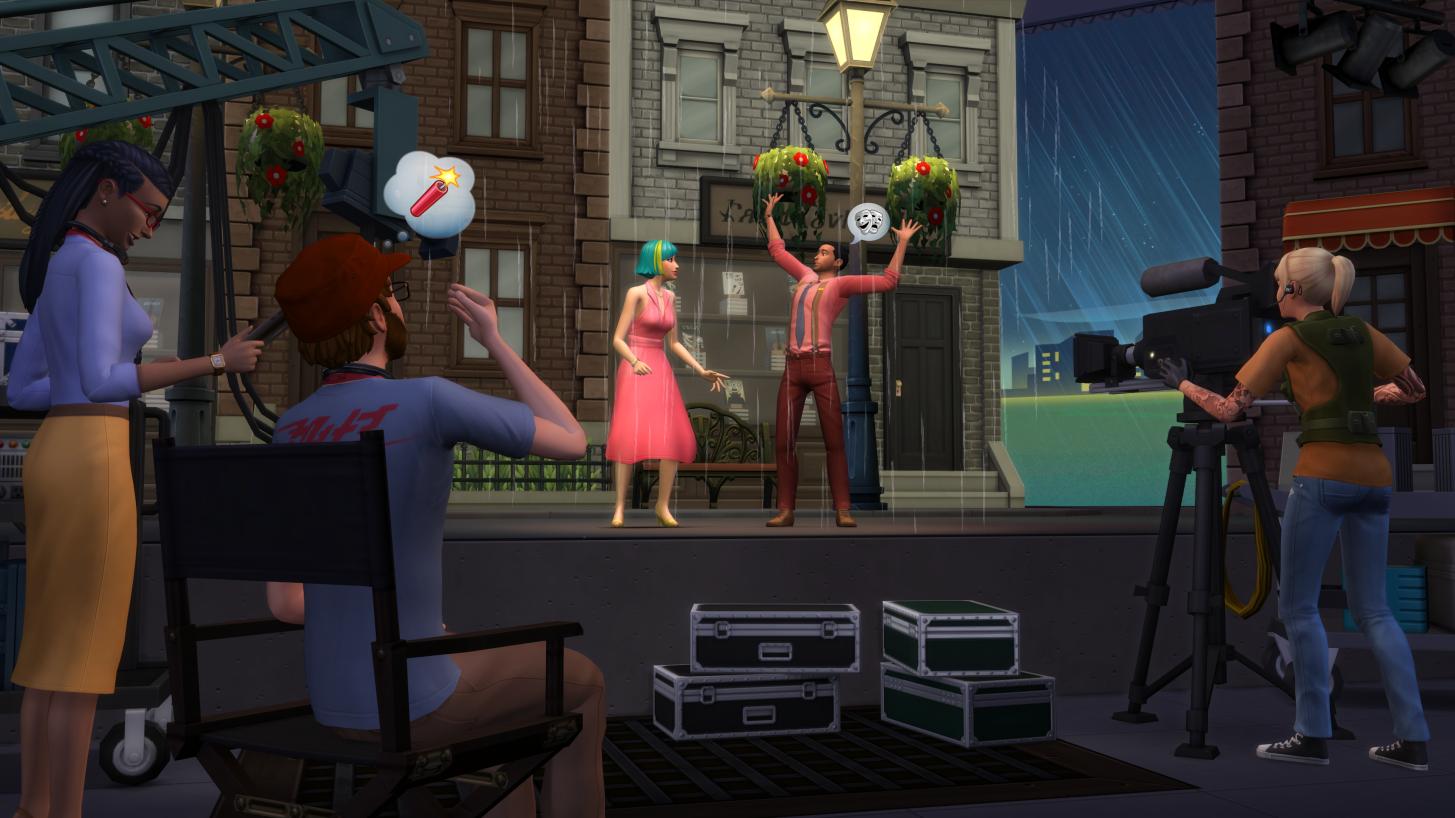 El papel de tu vida en Los Sims 4 ¡Rumbo a la Fama!