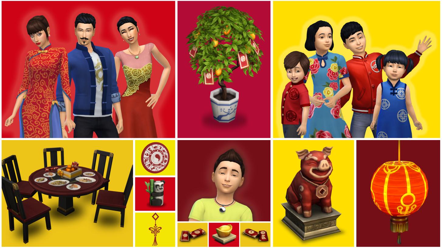 Los Sims 4 celebra en Año Nuevo Lunar