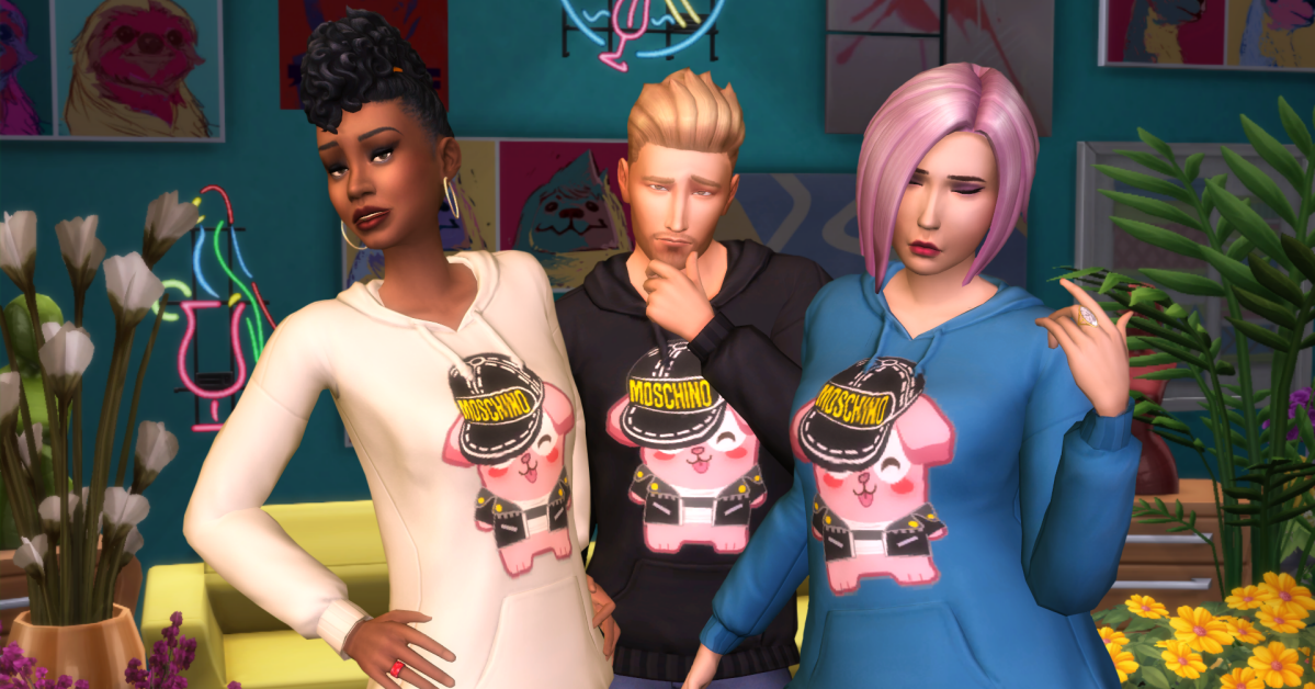 Introducing Moschino X The Sims
