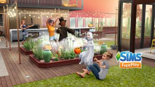 Brilliant Backyards Update The Sims Freeplay