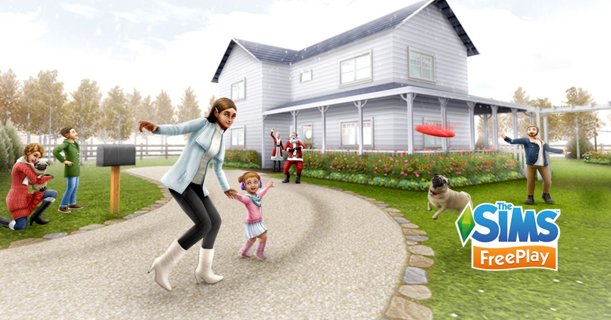 Enjoyable 2018 Holiday Update The Sims Freeplay Download Free Architecture Designs Viewormadebymaigaardcom