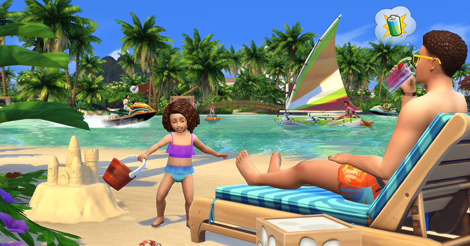 The Sims 4 Island Living Is Out Now