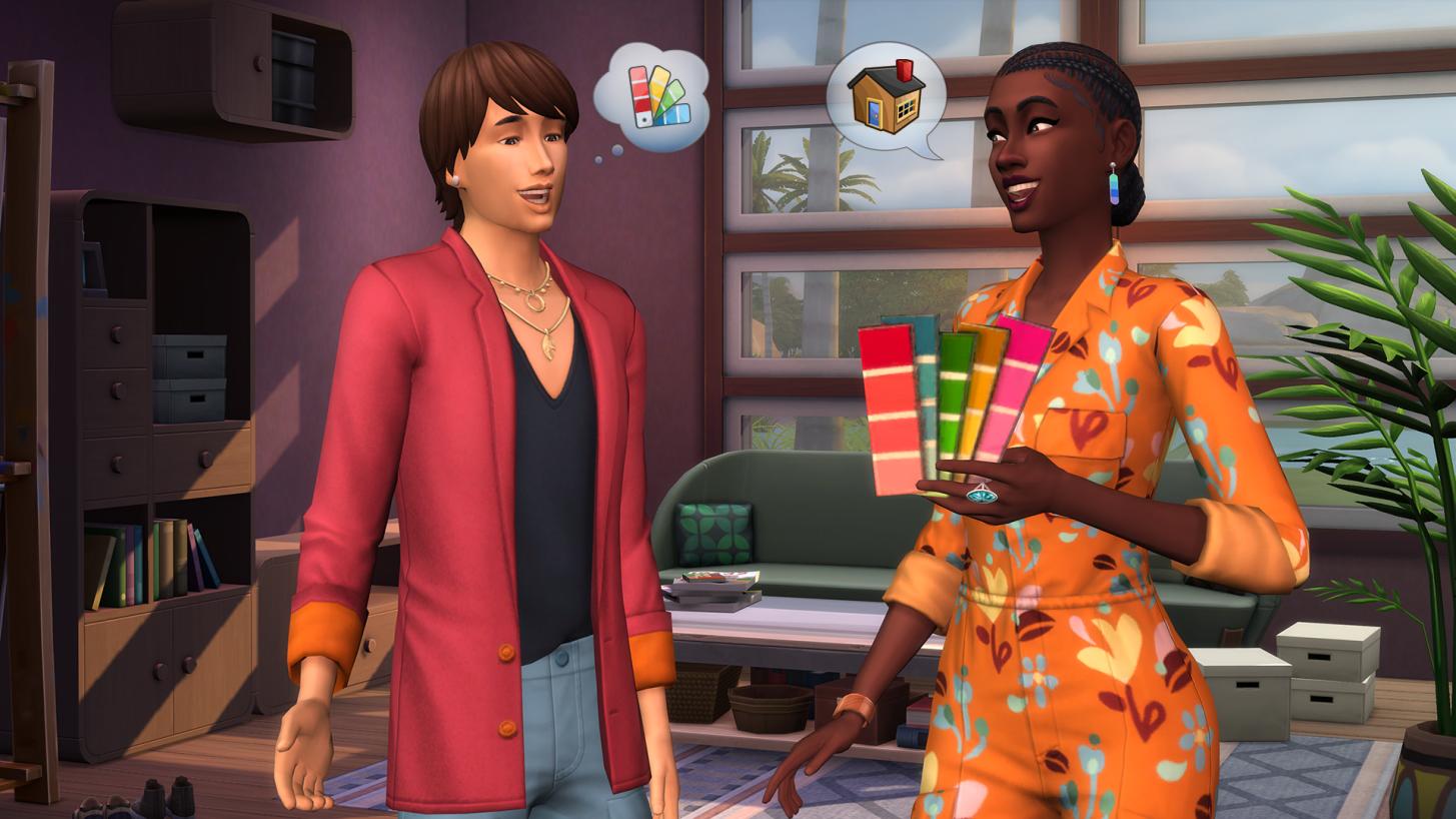 Conocer a nuestros clientes es fundamental al jugar Sims interiorismo jugar