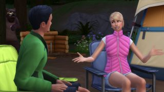 Storia di appuntamenti Sims