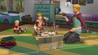 Die Sims 4 Elternfreuden und Die Sims 4 Kinderzimmer-Accessoires ...