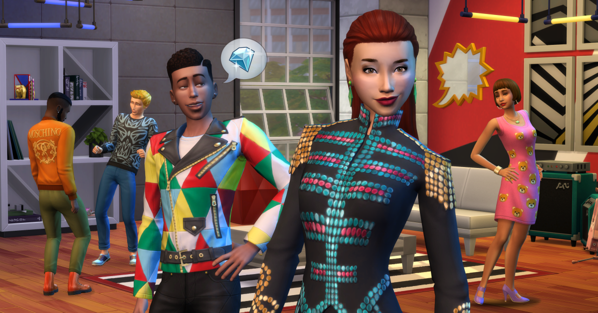 Introducing The Sims 4 Moschino Stuff Pack