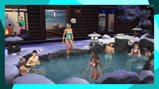 The Sims 4: Śnieżna Eskpada - Spa