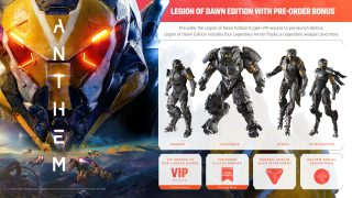 Pre-order Now To Receive VIP Access To The Anthem Demo