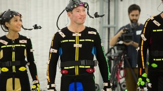On scene at the motion capture studio during the creation of Madden Longshot.