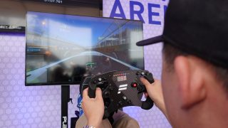 Real Racing 3 Pro Team at Qualcomm NYC ePrix