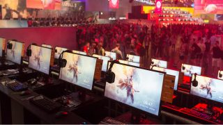 Battlefield 1 game stations at gamescom