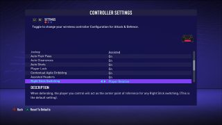 FIFA 21 Controller Settings For PS4 - An Official EA Site