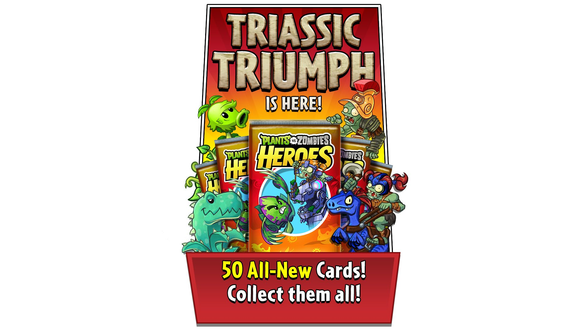 Triassic Triumph Arrives in Plants vs  Zombies Heroes
