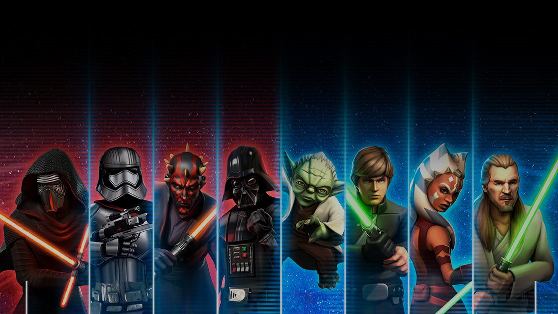star wars galaxy of heroes free mobile game ea official site