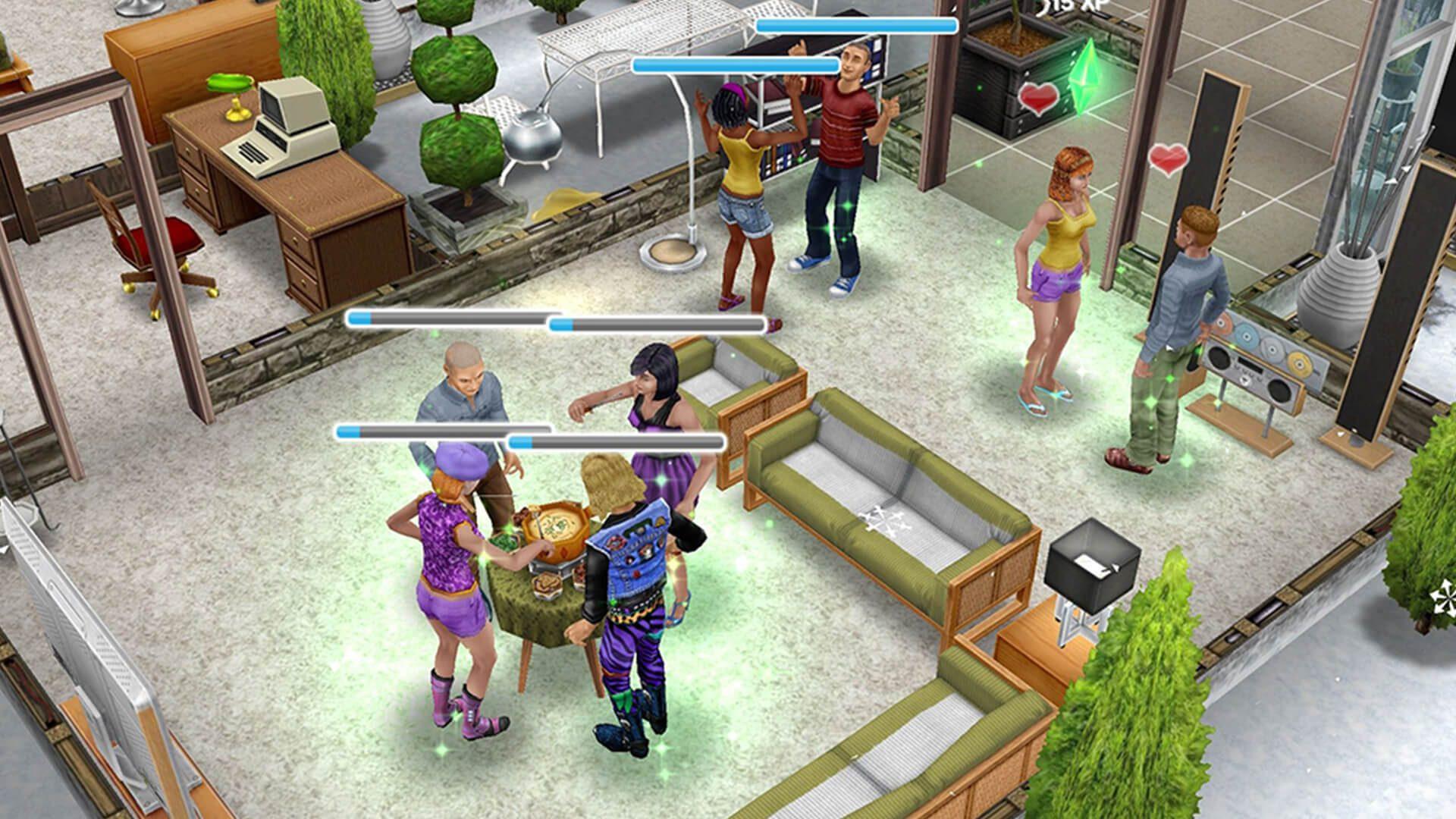 The Sims Freeplay tvoria datovania vzťah
