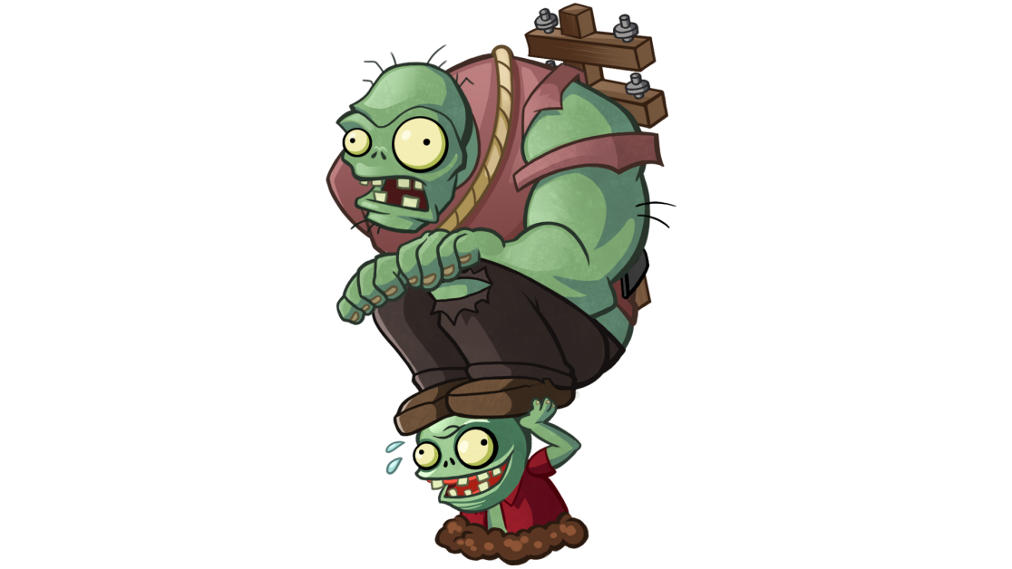 Plants vs. Zombies Heroes Birthdayz Cards