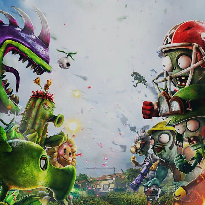 ea games plants vs zombies