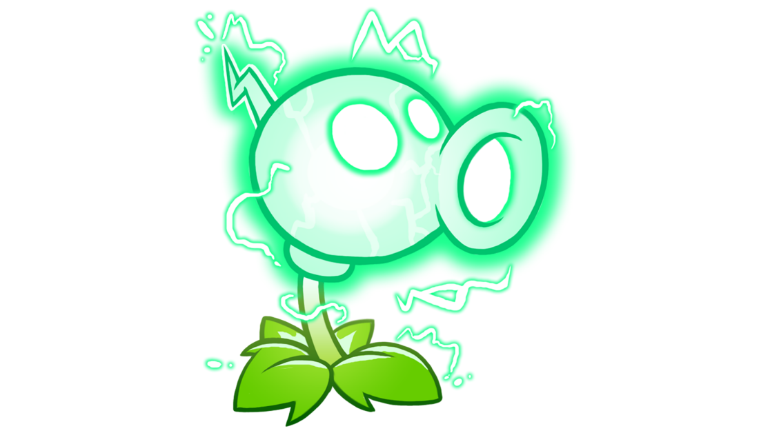 Electric Peashooter Bolts into Plants vs  Zombies 2