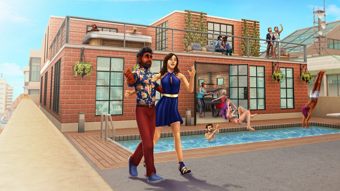 Penthouses Update The Sims Freeplay