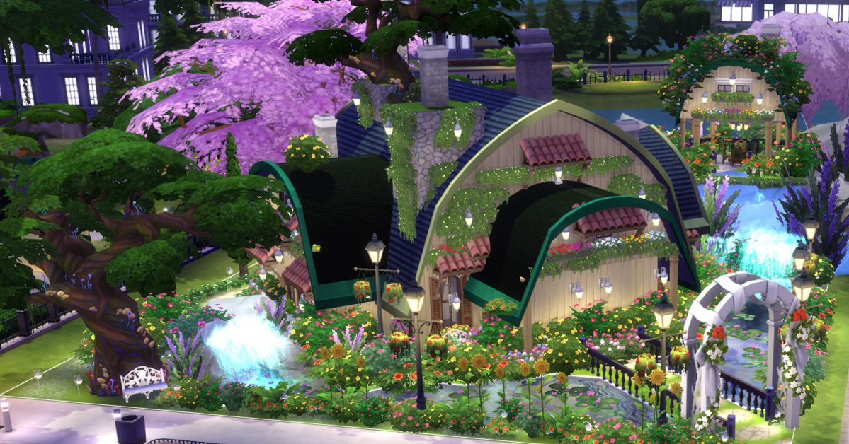 8a8ac47efb981e 10 Awesome Fan-Made Houses You Can Download in The Sims 4 Today