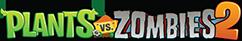 「Plants vs.Zombies 2」ロゴ
