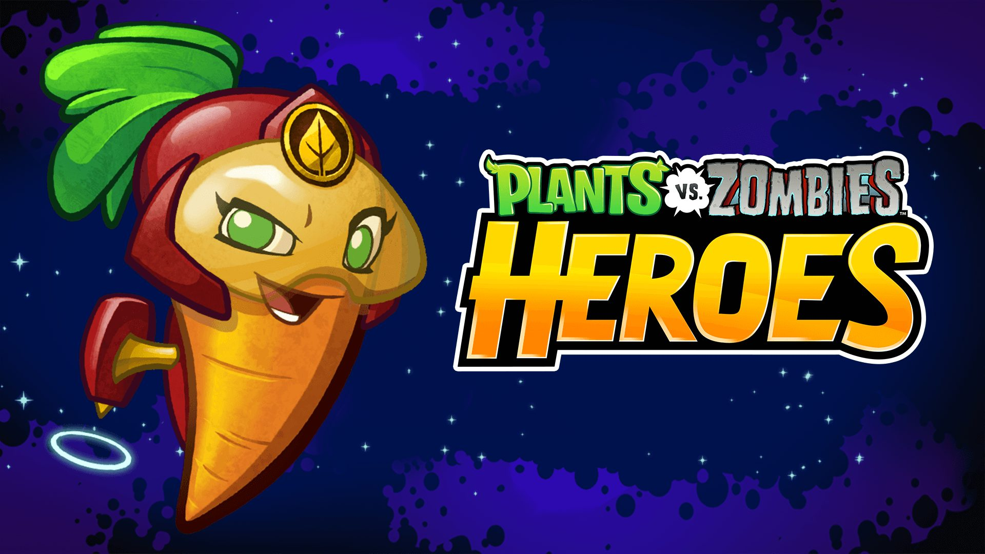 Two new heroes land in plants vs zombies heroes as leader of the plant etary guard beta carrotina is ready to root our zombies where ever they crop up she can conjure up a storm and her crew of carrots voltagebd Image collections