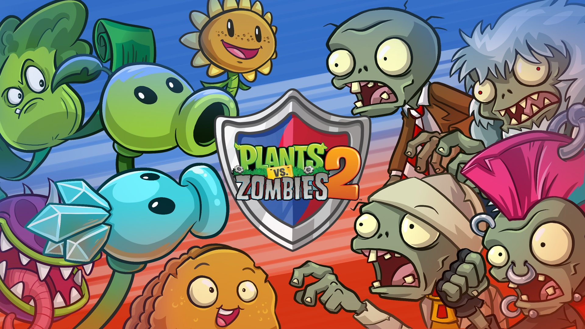 Plants Vs Zombies 2 Gets Competitive Arena