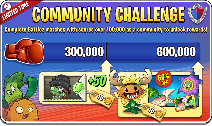 Plants Vs Zombies 2 Community Herausforderung Battlez Highscores