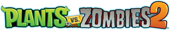 Plants vs. Zombies 2 — Логотип
