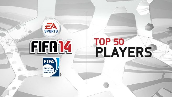 The Top 50 Players in FIFA 14